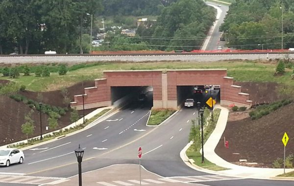 Liberty University Vehicular Tunnels