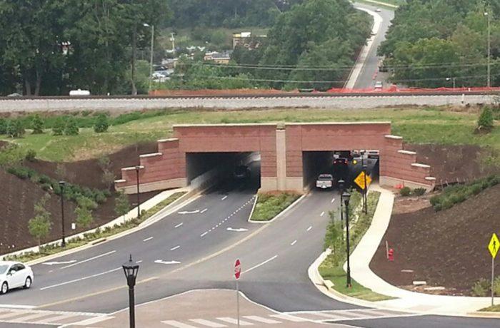 Liberty University Vehicular Tunnels