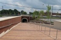 UNC Greensboro Pedestrian Tunnel