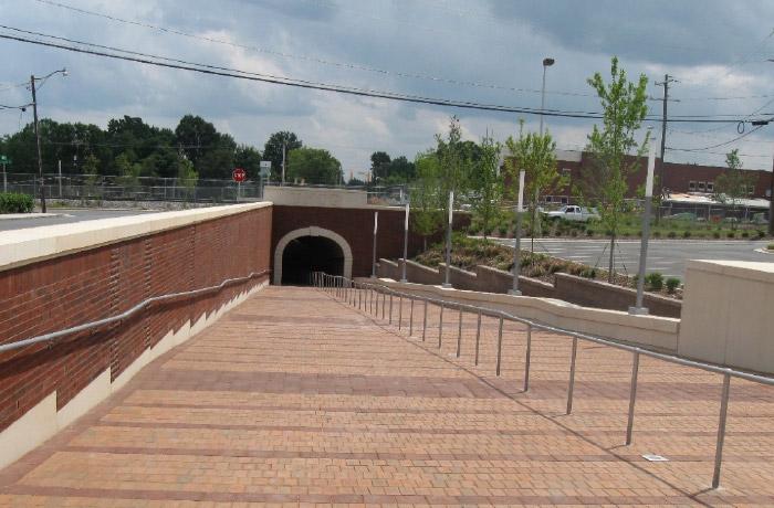 UNC Greensboro Pedestrian Tunnel