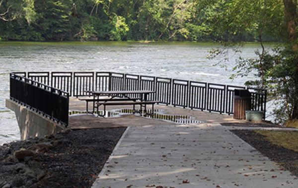 Riverbend Park Observation Deck